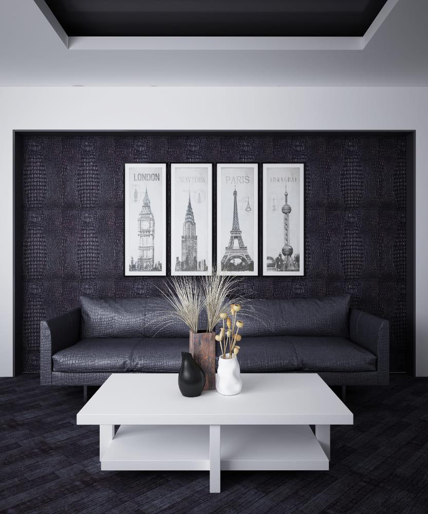 Декоративные стеновые 3D-панели