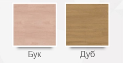 Возможные цвета перфораций шпона